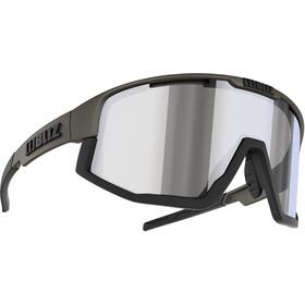 Bliz Fusion M12 Brille, matte camo green/black/jawbone smoke/silver mirror
